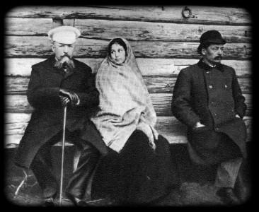 А. А. Желябужский, М. Ф. Андреева. Репетиционный момент. 1896 г.