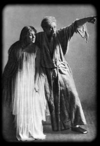 Раутенделейн М. Ф. Андреева, Генрих К. С. Станиславский. «Потонувший колокол» Г. Гауптмана. МХТ. 1898 г.