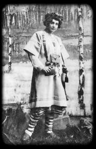 Лель. «Снегурочка» А. Н. Островского. МХТ. 1900 г.