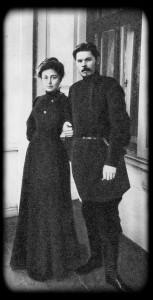 М. Ф. Андреева и А. М. Горький. 1905 г.