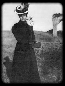 М. Ф. Андреева в окрестностях Рима. 1908 г.