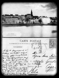 Автограф открытого письма В. И. Ленина М. Ф. Андреевой. 14 августа 1910 г.