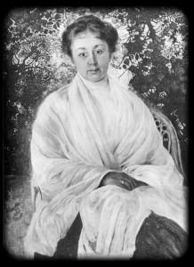 М. Ф. Андреева. Портрет работы И. И. Бродского. 1911 г.