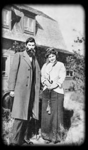 Петко Тодоров и М. Ф. Андреева. Мустамяки, лето 1914 г.