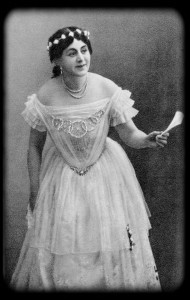 Рита Каваллини. «Роман» Э. Шельдона. Театр К. Н. Незлобнна. 1917 г.