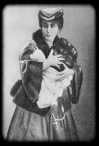 Рита Каваллини. «Роман» Э. Шельдона. Театр К. Н. Незлобина. 1917 г.